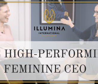How do you become a powerful leader while remaining feminine?